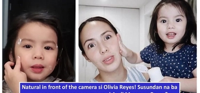 Namana ang talent sa vlogging? Olivia Reyes tries to be PH's youngest vlogger