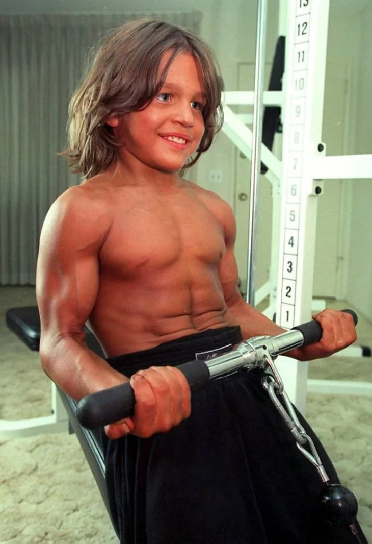 "Do you remember this boy named ""Little Hercules""? Here is how he looks today..."