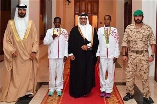 Kenya's Ruth Jebet feted in Bahrain over Olympic win