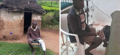 Kisii family leaves their son warming by the fire only to smell burning flesh
