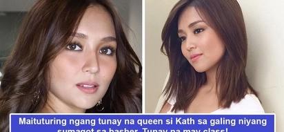 Siya dapat ang peg sa pagsagot sa bashers! Kathryn Bernardo's classy response to basher may just teach fellow celebs on how to handle haters online