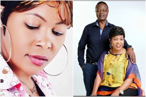 Celebrated gospel singer Janet Otieno introduces her hubby to fans for the first time (Photos)