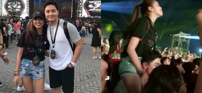 Fans gush over Maine Mendoza and Alden Richards' sweet photo taken during the Coldplay concert in PH