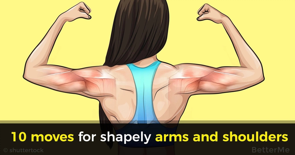 10 moves for shapely arms and shoulders