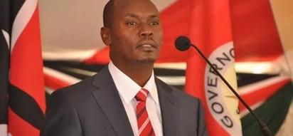 Gavana wa Kiambu William Kabogo avamia afisi za Jubilee wakati wa uteuzi