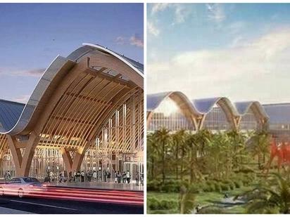 Sosyal na sosyal ang bagong airport terminal sa Cebu