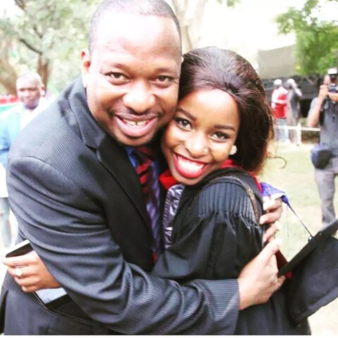 Saumu Mbuvi's sweet message after birth of her baby girl