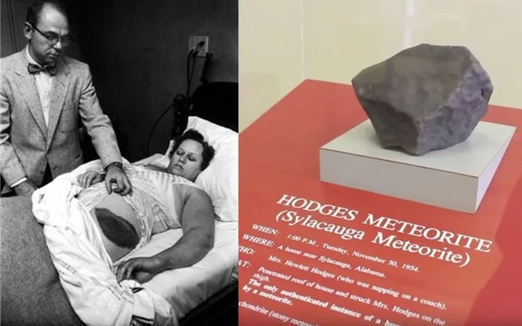 """""""I feel like the meteorite is mine, I think God intended it for me."""" says the woman who was hit by a meteorite"""