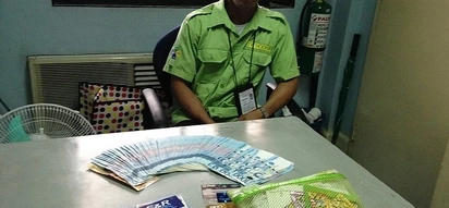 Ito ang idol! Honest airport staff returns pouch with more than P100K cash