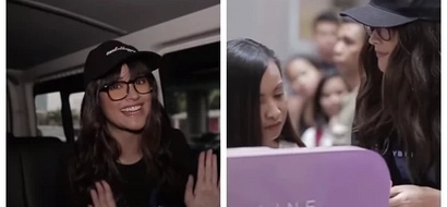 Liza Soberano pranks female customers by disguising as makeup seller in SM North EDSA