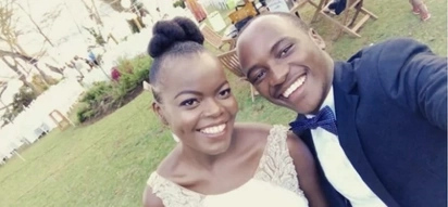 Photos of the prominent film director and Daily Nation's columnist who were in a secret wedding surprising Kenyans