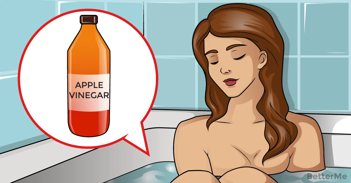 6 reasons to add apple cider vinegar to your bath