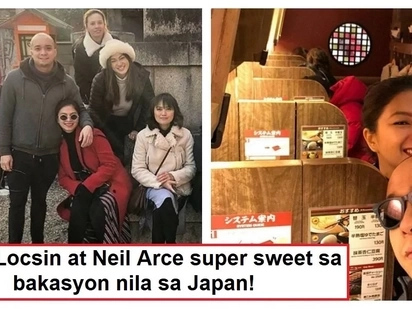 Ibang level na ang relasyon! Angel Locsin and Neil Arce enjoy their vacation in Japan