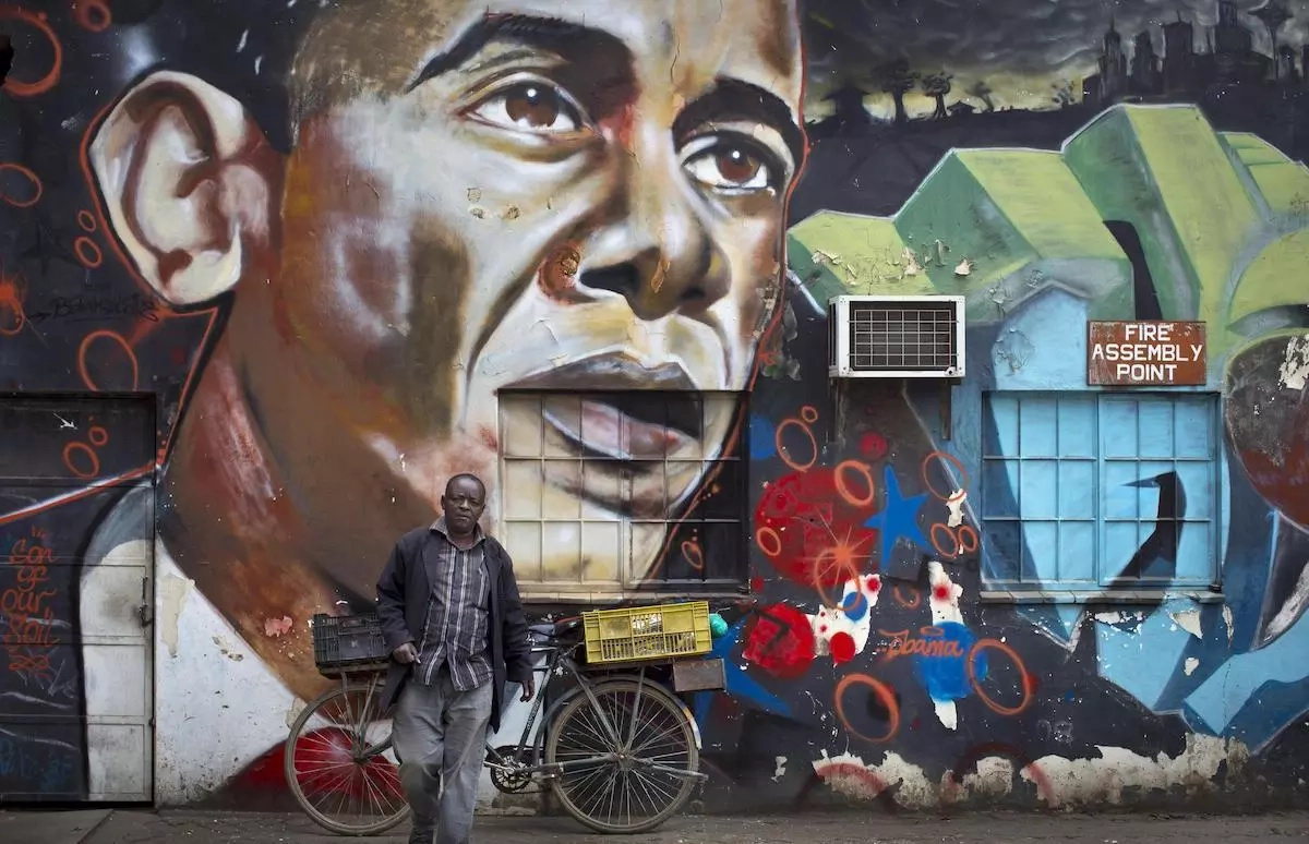 This Kenyan graffiti artist's work will blow your mind (photos, video)