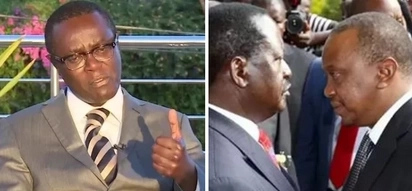 Letter to Uhuru: If Kenya sinks, we won't blame Raila but you -Mutahi Ngunyi