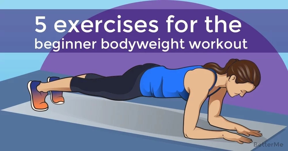 5 exercises to workout for beginners