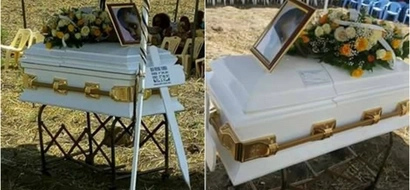 TEARS as Kenyans attend the burial of baby Brian (photos)
