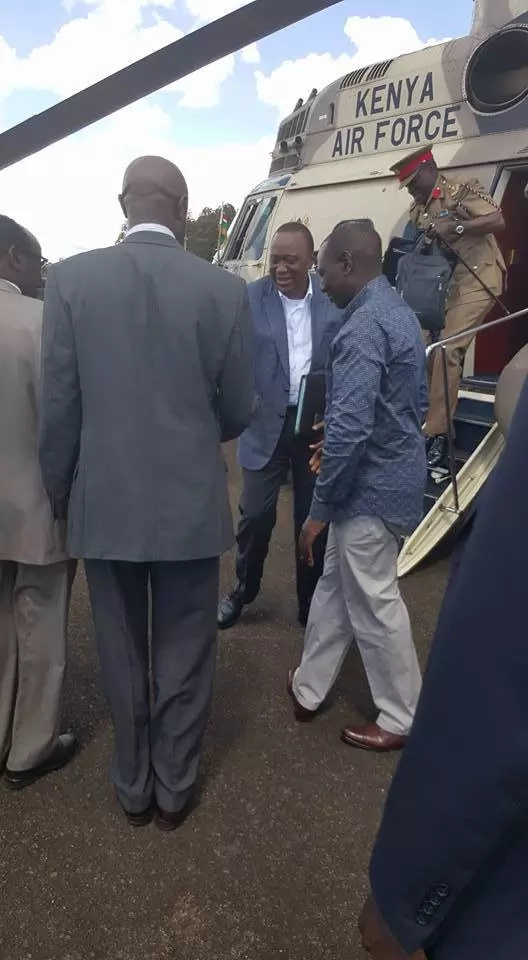 President Uhuru in three different counties in 24 hours