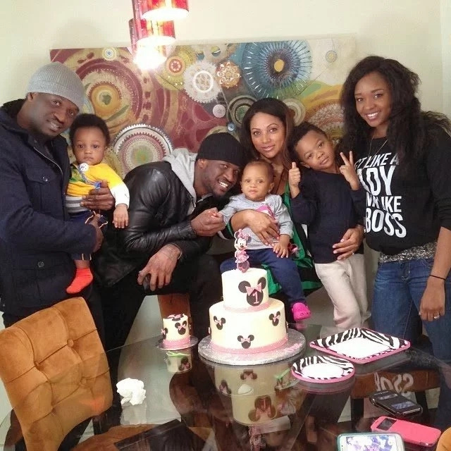 Photos of P Square's lovely family that will make you love marriage