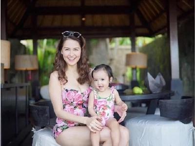 So posh! Marian Rivera and daughter wears Dolce & Gabbana in Bali