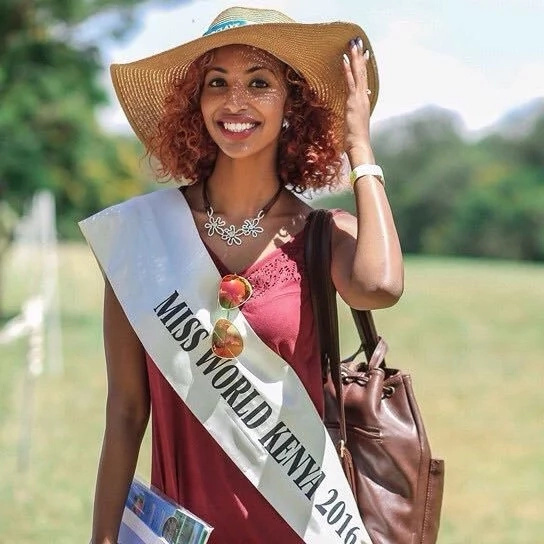 Moses Kuria's 'girlfriend' stripped off the title ' Miss Kenya'