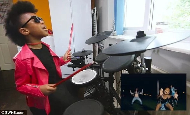 Geneva has won praise from Beyonce's drummer for her rendition of 'Freedom.' Photo: SWNS