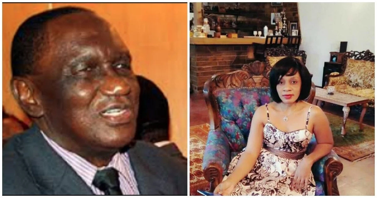 87-year-old ex-minister pays dowry to marry woman half his age (photos)
