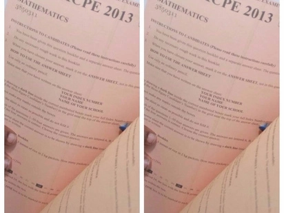 KCSE candidate arrested with suspected leaked exam papers in Makueni