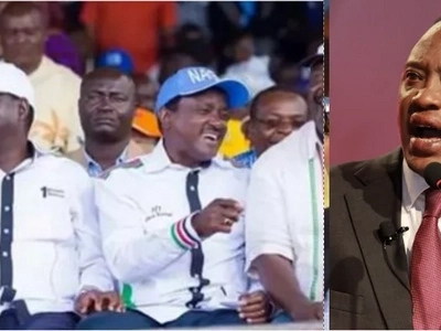 Musalia Mudavadi's party react day after Raila was named NASA flag bearer