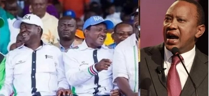Mudavadi's camp loses its cool, hurls unprintable insults at Uhuru and Ruto