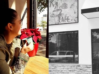 Kristine Hermosa opens her new cafe in Alabang!