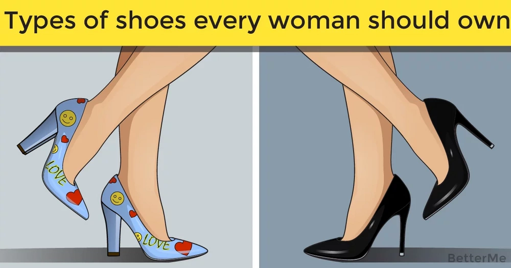 Types of shoes every woman should own