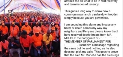 ODM MP exposed for threatening to kill Mpango wa Kando's landlady