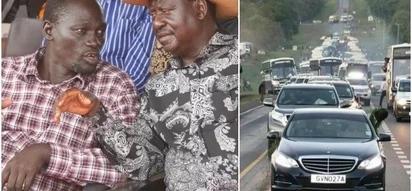 Turkana Governor, Josphat Nanok, ODM, attends Uhuru's swearing-in