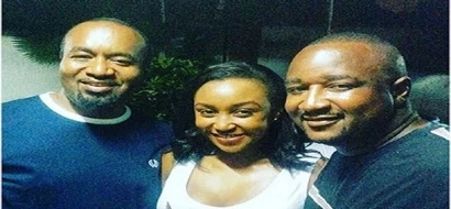Were they a present from him? Joho, Betty Kyalo wearing similar shoes (Photos)