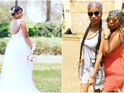 Former Tahidi high actress weds lover barely months after dumping gospel singer Hey Z