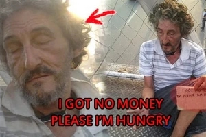 Kinawawa ng Pinay! This Italian national begs for food in Manila after heartless Pinay wife left him!