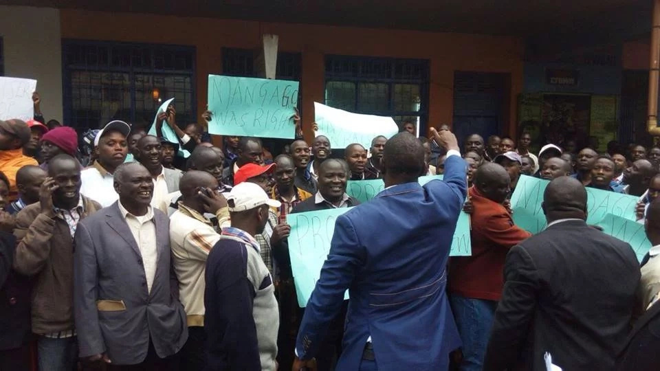 Demos in Eldoret over posting of 'outsider' Moi University VC