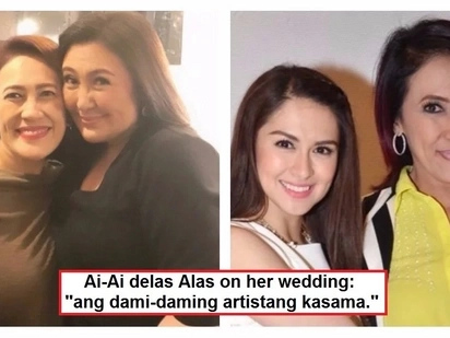Bigating kasal ito! Ai-Ai delas Alas reveals her star-studded entourage for her wedding with Gerald Sibayan