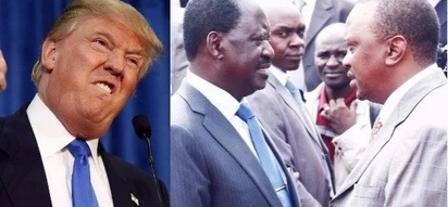 """Our eyes are on you"" - Trump tells Uhuru, Raila ahead of fresh election"