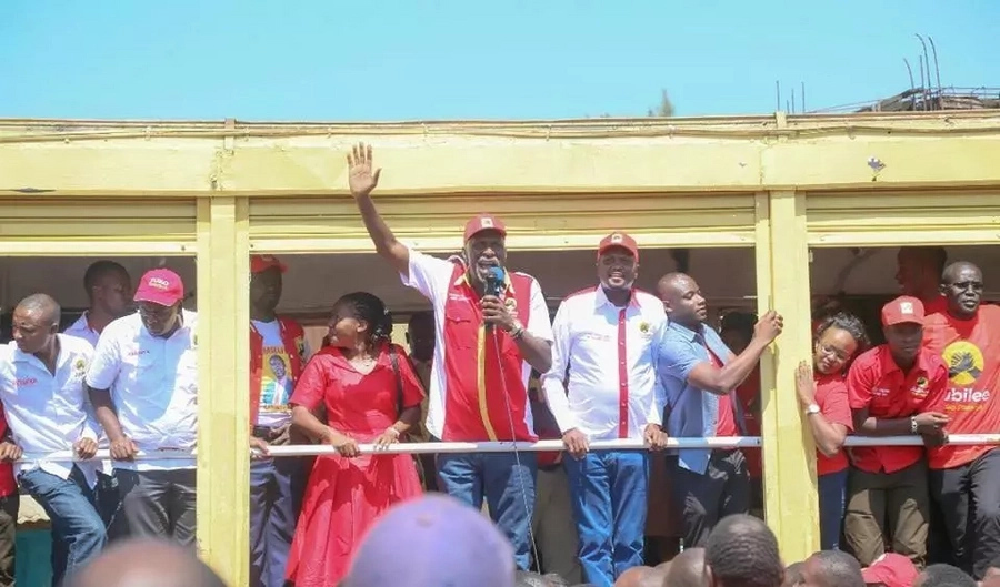 Moses Kuria confesses to storming funeral and lying throughout his speech just to campaign for Uhuru
