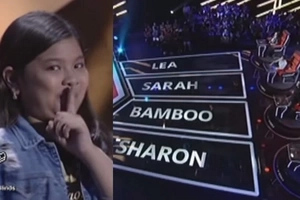 Elha Nympha leaves all four judges turning as she tries out in The Voice Teens blind auditions