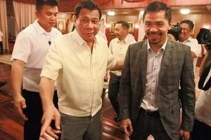 Suportado kita! Sen. Pacquiao says he will support Duterte if he declares Martial Law