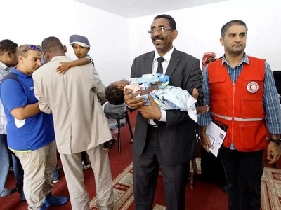 Poor kids! 4 babies whose parents died while fighting for IS militants handed over to Sudan
