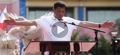 WATCH: Duterte did it again; made shocking statements about PH terror group and the US
