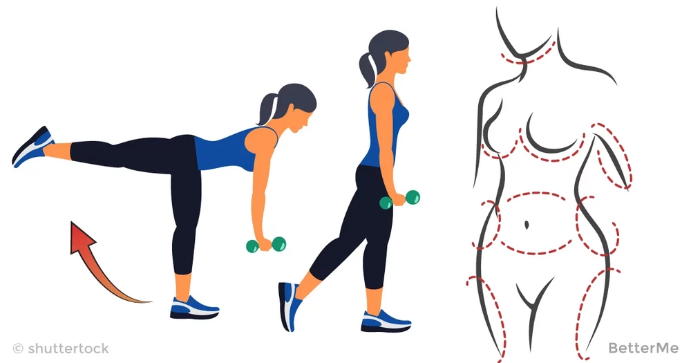 5 moves for your butt, hips and thighs