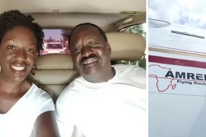 Raila Odinga's daughter flown out of the country for treatment