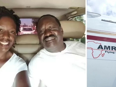 Raila Odinga's daughter medical condition worsens, flown out of Kenya