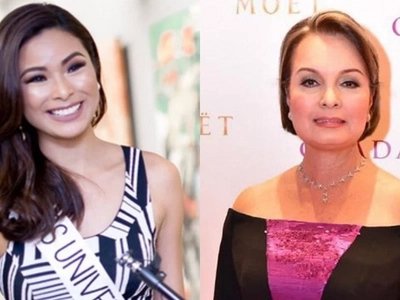 Miss Universe 1973 Margie Moran keeps her advice simple for Maxine Medina
