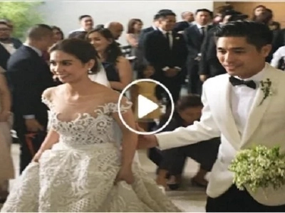 Kaye Abad finally ties the knot with Paul Jake Castillo in Cebu